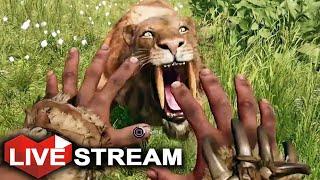 getlinkyoutube.com-Far Cry Primal Gameplay | Taming EVERY Animal + RARE BEASTS | Livestream (Part 2)