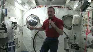 getlinkyoutube.com-Chris Hadfield on getting sick in space