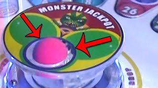 getlinkyoutube.com-Monster Drop Arcade Game MAJOR Jackpot EXTREME WIN! | Matt3756​​​