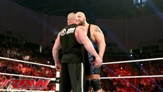 getlinkyoutube.com-Big Show and Brock Lesnar come face-to-face: Raw, Jan. 20, 2014