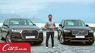 getlinkyoutube.com-New Audi Q7 vs Volvo XC90 – Detailed Review And Comparison