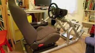 Hints & tips to DIY a PVC Sim driving rig, Part 1 of 5