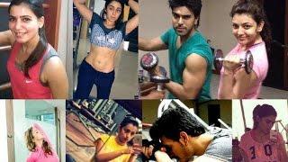Star Heros & Heroines Gym Workout - Ramcharan , Samantha , Pawan Kalyan