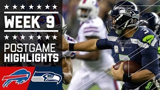 getlinkyoutube.com-Bills vs. Seahawks (Week 9)   Game Highlights   NFL