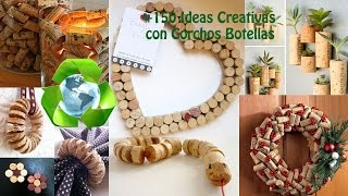 Reciclar Corchos +150 Ideas / Recycled Corks Wine +150 Ideas
