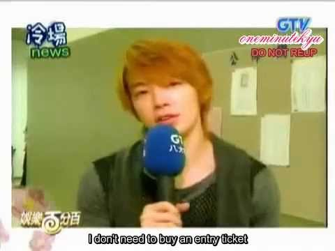 ENGSUB 110511 Siwon cannot stand Donghae