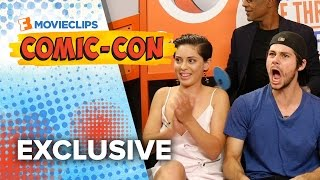 getlinkyoutube.com-Name That Movie Game - 'The Maze Runner' Cast - Comic-Con (2015) HD