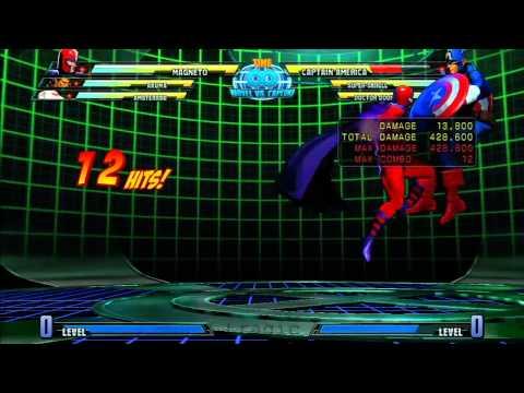 MvC3: Magneto - Combo 04 - Ghetto ROM Bread & Butter!