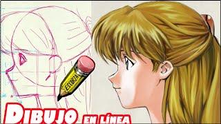 getlinkyoutube.com-como dibujar un rostro tipo manga (perfil)