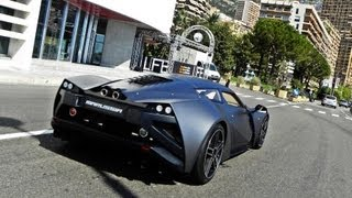Marussia B2 START-UP and Hard REVS