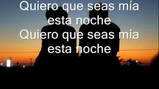 Esta Noche quiero que  seas mia  Los Barraza + letra