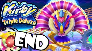 getlinkyoutube.com-Kirby Triple Deluxe: Queen Sectonia Final Boss END World 7 Ending Nintendo 3DS Gameplay Walkthrough
