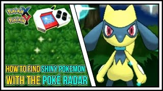 getlinkyoutube.com-How To Find Shiny Pokemon Using The Pokeradar in Pokemon X and Y | Poké Radar Guide