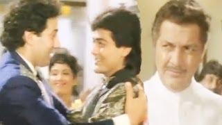 Prem Chopra Tries To Insult Sunny Deol, Veerta - Scene 8/21