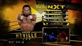 getlinkyoutube.com-WWE 2K15 Who Got Nxt Adrian Neville Full Walkthrough, Legend Difficulty