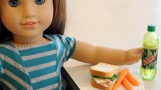 getlinkyoutube.com-How to Make Edible Doll Food - Doll Crafts