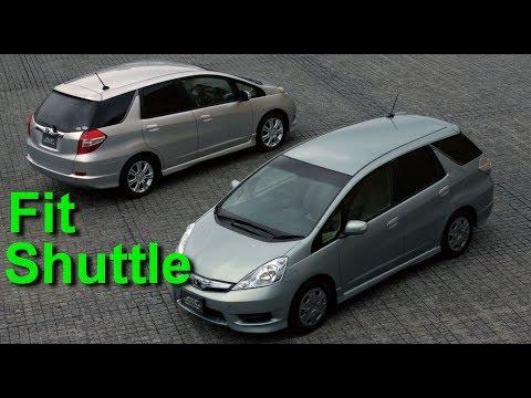 Honda Fit Shuttle из Японии. Встреча автовоза. Обзор