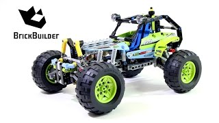 getlinkyoutube.com-Lego Technic 42037 Formula Off-Roader - Lego Speed build