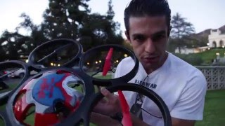 WL Toys V323 Hexacopter Carries Gopro