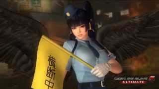 『DEAD OR ALIVE 5 Ultimate』 「がんばるおまわりさん」コスチューム プレイ動画