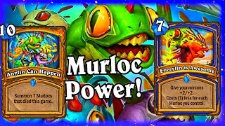 getlinkyoutube.com-Murloc Power ~ Anyfin Can Happen and Everyfin is Awesome ~ Hearthstone The League of Explorers