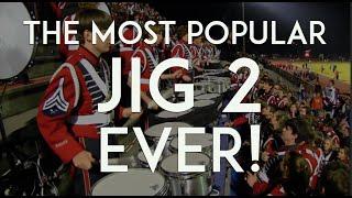 "getlinkyoutube.com-Awesome Drumline - Quads - Bass Splits - ""JIG 2 - Redux!"""