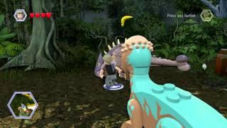 LEGO Jurassic World - All Dinosaur Heal Locations