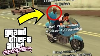SECRET END CREDITS FOUND AFTER 10 YEARS!! (GTA Vice City Stories Easter Eggs)