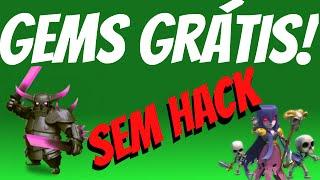 getlinkyoutube.com-Como conseguir Gems DE GRAÇA no Clash of Clans!