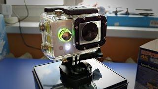 getlinkyoutube.com-Новая интересная action камера HUAGUO в стиле Xiaomi Yi с достойным звуком. Rumall.com 4k