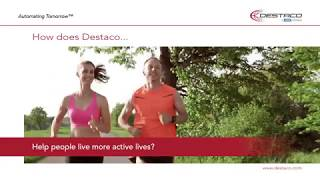 Click to view How does Destaco help people live more active lives?