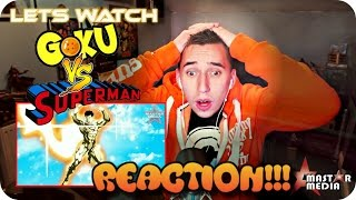 getlinkyoutube.com-WHITE WARRIOR VS GOLDEN HERO!!| MaSTAR's Goku VS Superman REACTION!!