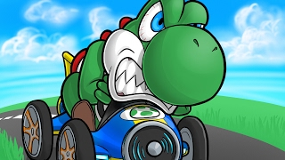 THE WORST DRIVER ALIVE!! - Mario Kart 8 Funny Moments