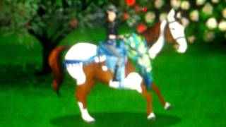 getlinkyoutube.com-By:AmberBrown and my horse Amir on Horseland title of the song Walk it out