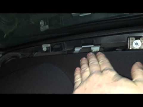 Как снять крышку фронтальных колонок. Cadillac CTS