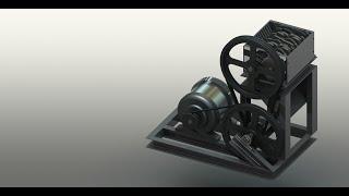 getlinkyoutube.com-Design and Production of Plastic Shredder