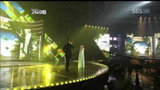 getlinkyoutube.com-Kwill&Tiffani - A whole new world @SBS MUSIC FESTIVAL 가요대전 20111229