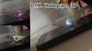 getlinkyoutube.com-สอนทำที่ฉายภาพ3มิติจากมือถือ (โฮโลแกรม) | Transform your phone into Hologram 3D projector