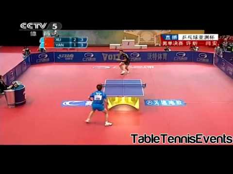 Xu Xin Vs Yan An: Final [Asian Cup 2013]