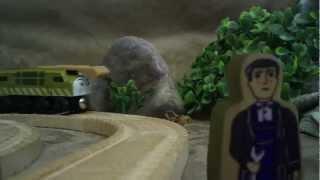 getlinkyoutube.com-Thomas & The Magic Railroad - Mr. conductor and Diesel 10 Remake