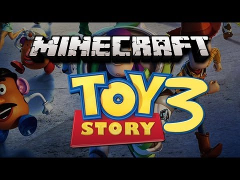 Minecraft TOY STORY ADVENTURE MAP ! /BajanCanadian, JeromeASF, and Pocketisland ! - Part 3