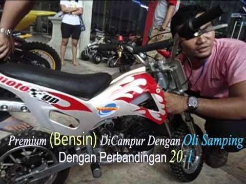 Motor mini trail 50cc 2 tak cross bike ATV 1