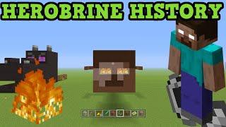 Minecraft - History of HEROBRINE - The Herobrine Story