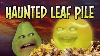 getlinkyoutube.com-Annoying Orange - Haunted Leaf Pile