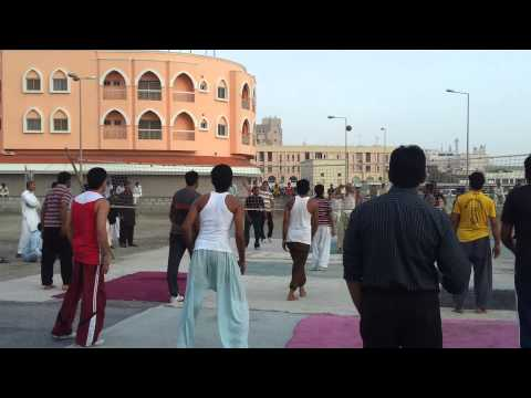 Shooting vollyball gujjar club vs azad club bahrain