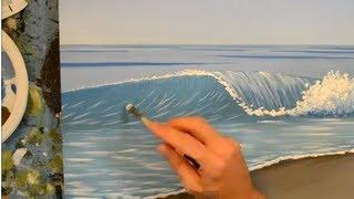 getlinkyoutube.com-How to Paint a Wave Using Acrylics