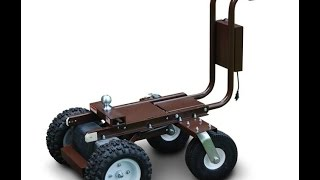 getlinkyoutube.com-Battery Powered Trailer Dolly Tugger