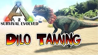 Ark Survival Evolved Xbox One - 5 Minute Tutorial - Dilo Taming