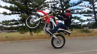 getlinkyoutube.com-crf250l hill climbs and wheelies