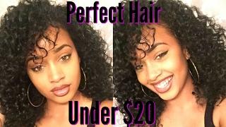 getlinkyoutube.com-Slay on a Budget | Big Curly Hair for Under $20 INCLUDING shipping!! | Hair So Fly